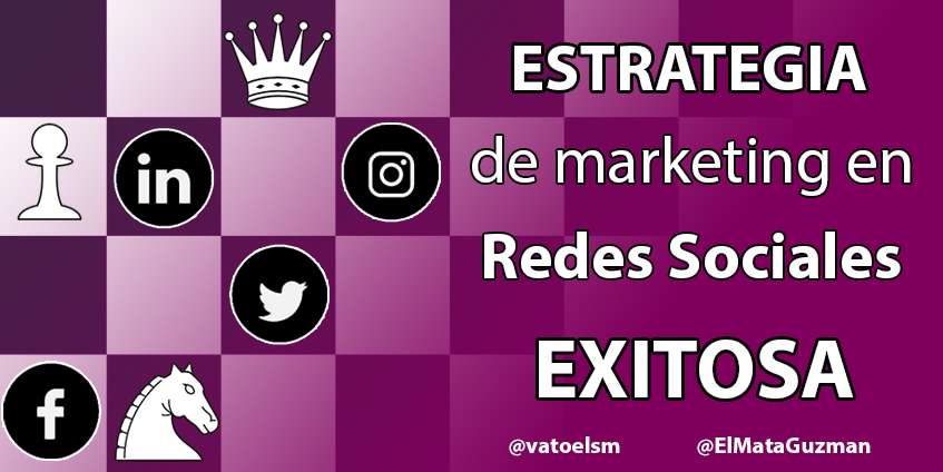 Estrategia de marketing en redes sociales exitosa