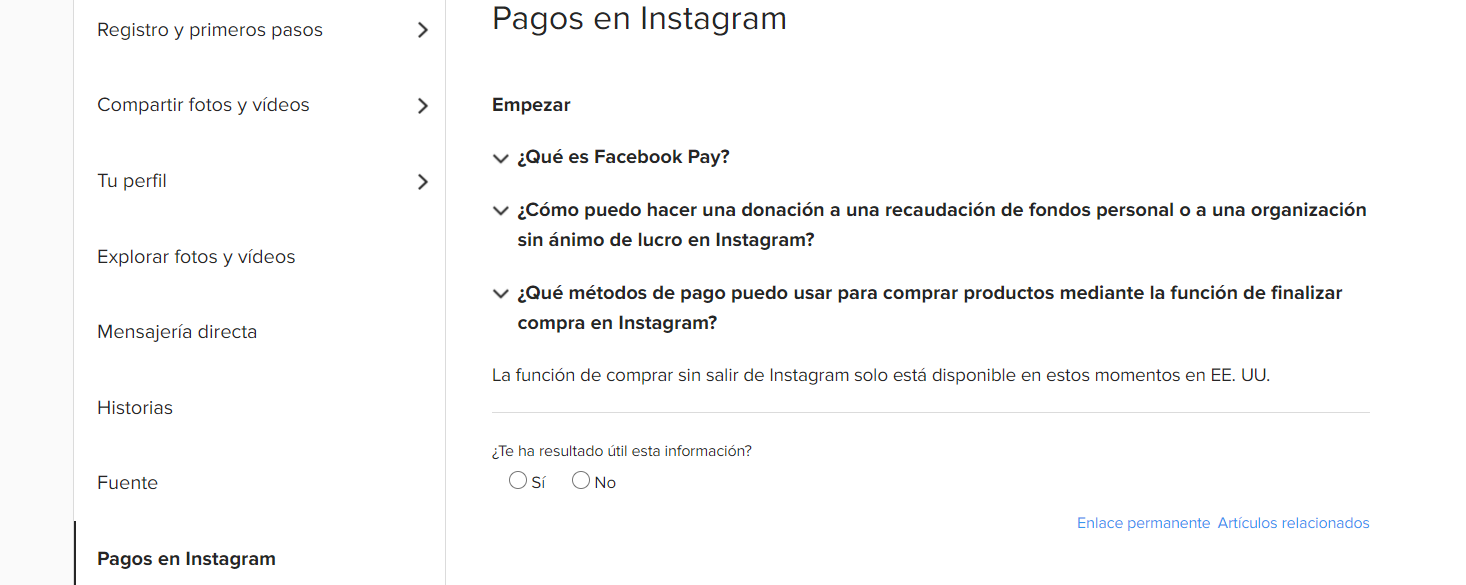 finalizar pago facebook marketplace