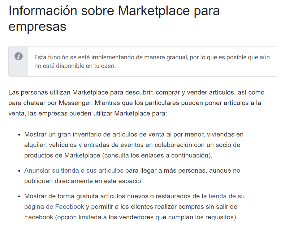 marketplace empresas